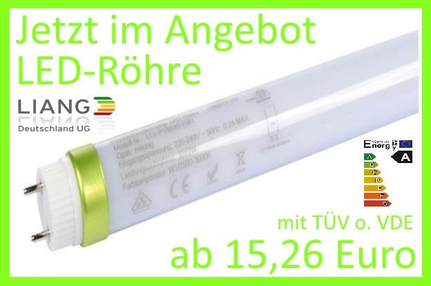 LED Röhren mit TÜV